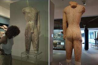 museu siracusa portugues kouros lentini - O Museu Arqueológico de Siracusa