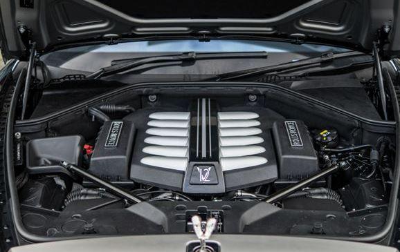 2017 Rolls-Royce Ghost Engine