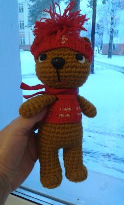 #вязаныый_медведь