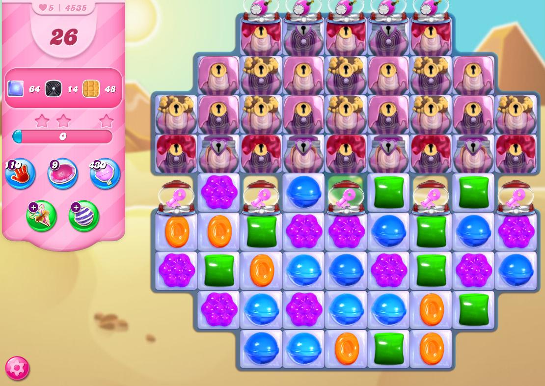 Candy Crush Saga level 4535