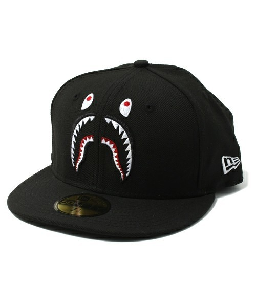 1f065fb39d43 BAPE X NEW ERA SHARK CAP BLACK J-Zay Kanye West Big Sean Pharrell Williams