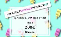 Logo #PerfectSummerPerfectFit : vinci gratis 100 buoni spesa Ragno da 15€ e da 200€