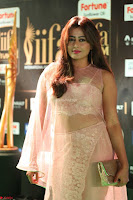 Nidhi Subbaiah Glamorous Pics in Transparent Peachy Gown at IIFA Utsavam Awards 2017  HD Exclusive Pics 49.JPG