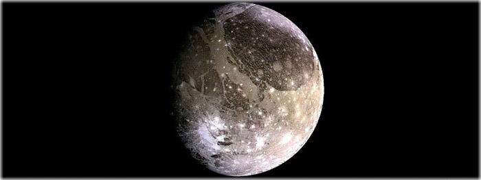 ondas mortais de plasma ao redor de Ganimedes - lua de Júpiter