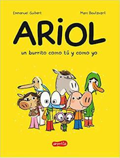 selección cuentos infantiles día del libro 2018 ariol burrito como tú y yo cómic