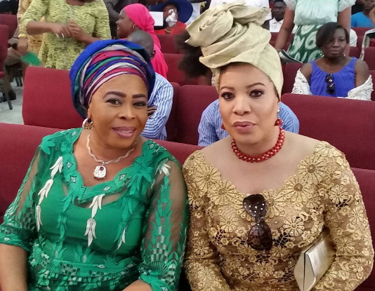 monalisa chinda attends rccg church