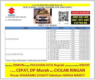 Suzuki Ertiga Bandung 2016, Harga Suzuki Ertiga 2016, Kredit Suzuki Ertiga 2016