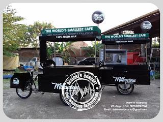 produksi gerobak milky cious tegal