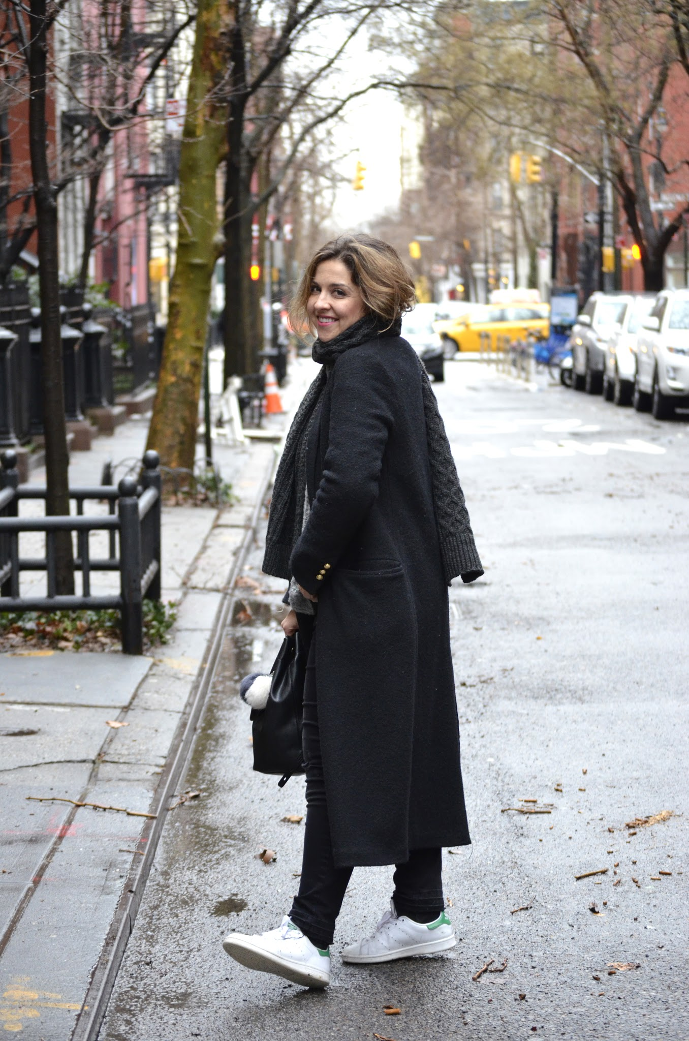 maxi coat in new york city