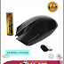 Alcatroz AirMouse Wireless Optical Mouse (Black)