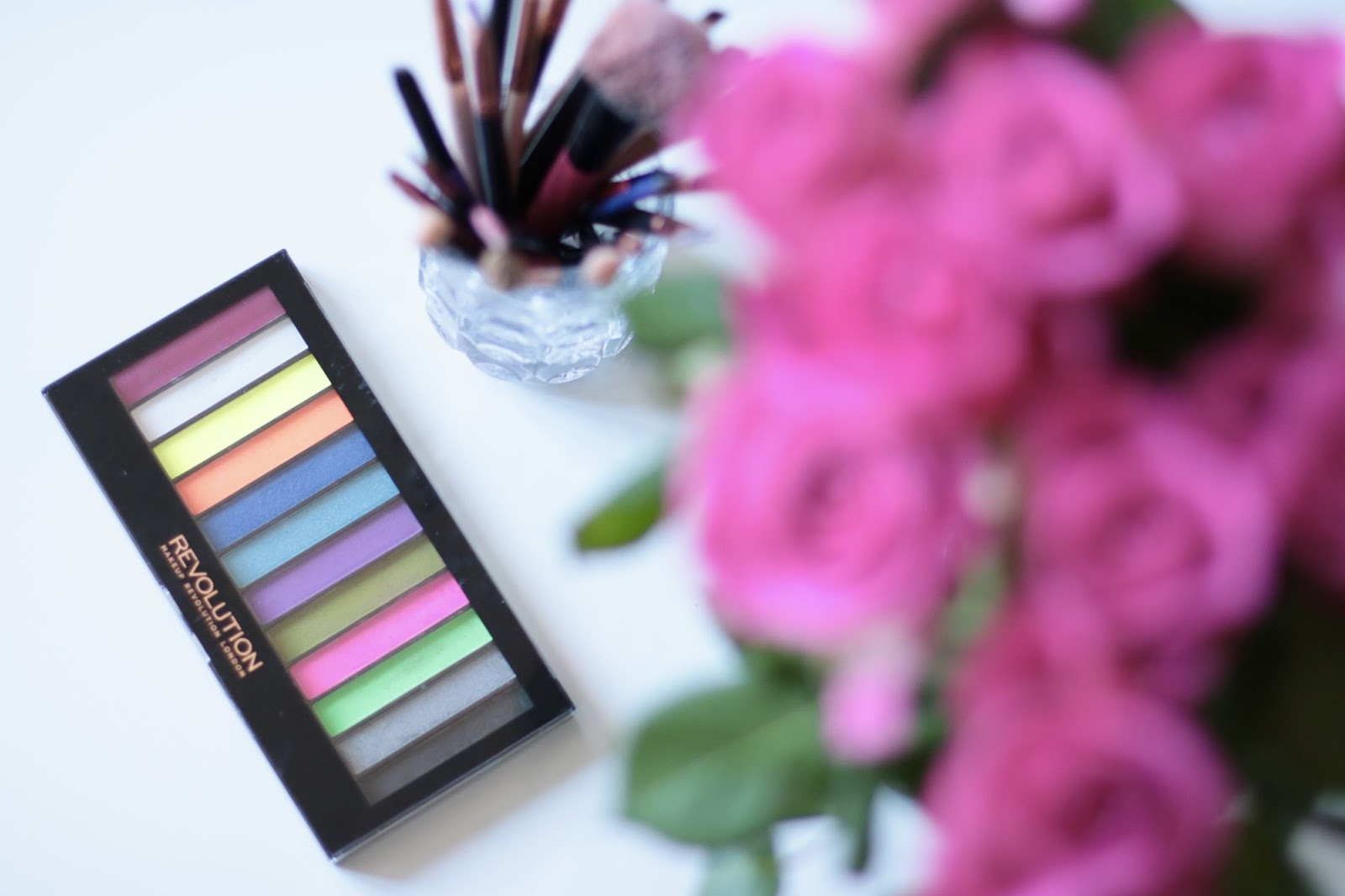 Redemption Palette Acid Brights Review - Makeup Revolution