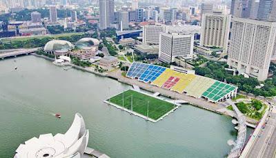 stadion sepakbola,terapung,terbesar