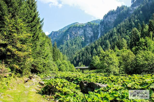 Szlak Via Spluga Alpy włochy