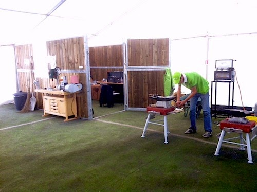 farriers forge at WEG 2014