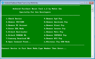 Android Fastboot Rest Tool V1.2 BY Mohit KKC Full Setup Download