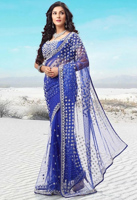 model baju sari india terbaru