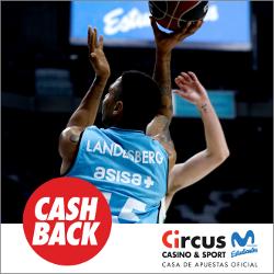 circus promocion Gipuzkoa Basket vs Estudiantes 18 marzo