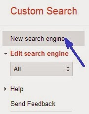 Membuat dan Pasang Google Custom Search Engine di blogger