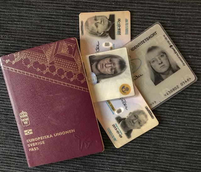 pass, idkort