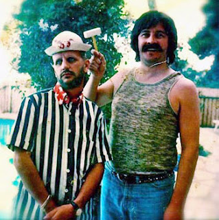 John Bonham and Ringo Starr