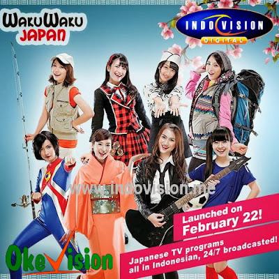Indovision Hadirkan Channel Hiburan Baru WakuWaku Japan