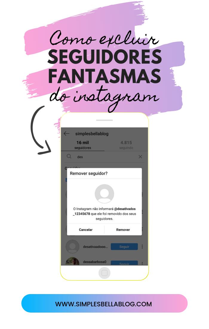 Como excluir seguidores do Instagram