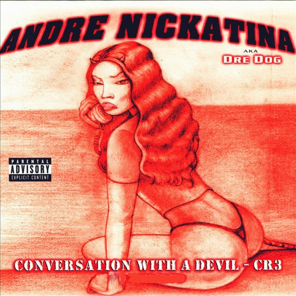 Andre Nickatina - Conversation With a Devil Cover