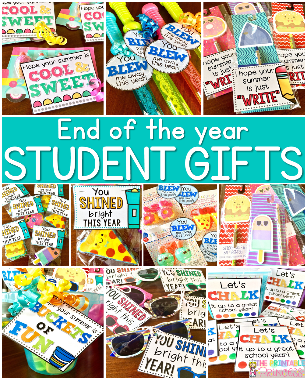 Easy End Of The Year Gifts For Students