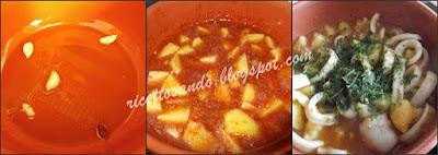 Totani e patate alla ligure ricetta di pesce ottima cotta in coccio