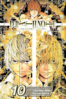 The tenth volume of the Death Note manga.