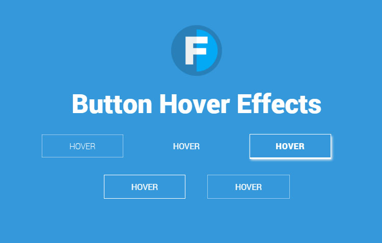 5 Button Hover Animation Effects CSS3 (With Tutorial) | Fostrap