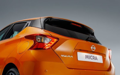 All New Nissan Micra 2017 back view