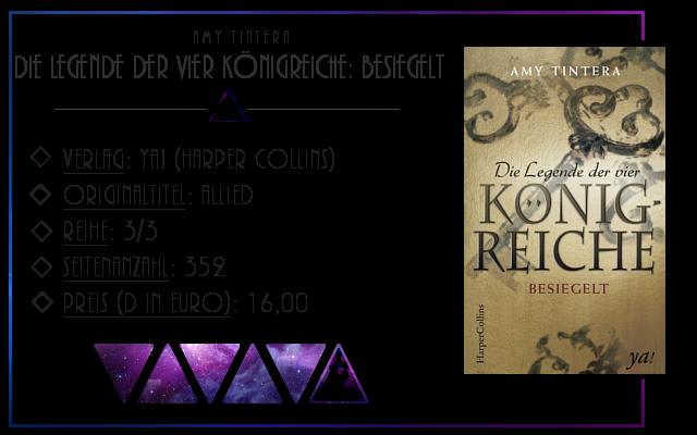 [Rezension] Die Legende der vier Königreiche: Besiegelt - Amy Tintera