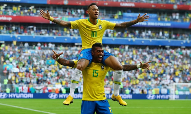 Brazil beat Mexico with 2-0 | FIFA World Cup 2018