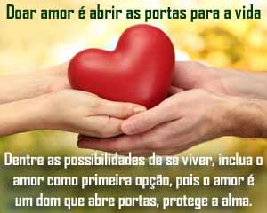 O amor é fonte de felicidade