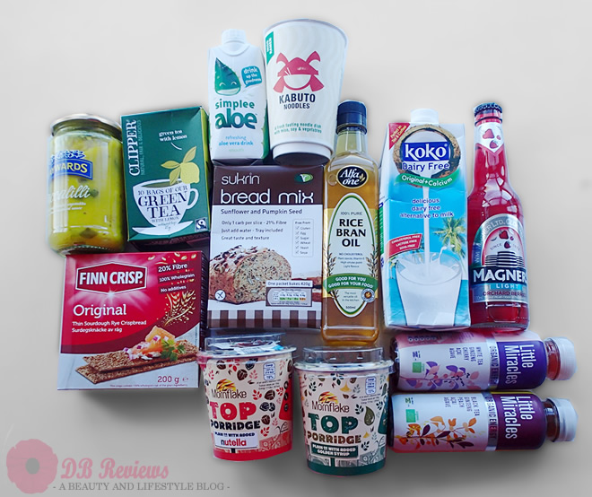 January 2015 Degustabox - The Healthy Box