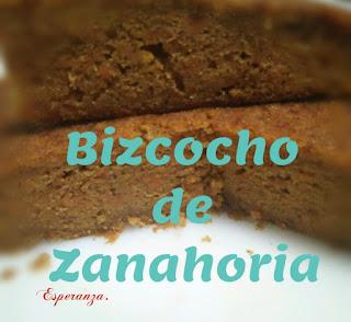 Bizcocho De Zanahoria (otro)