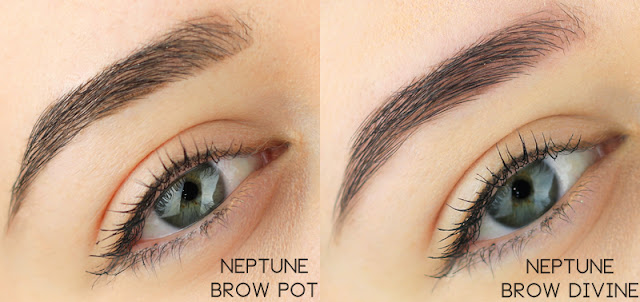 Nabla Cosmetics Brow Pot Neptune swatch