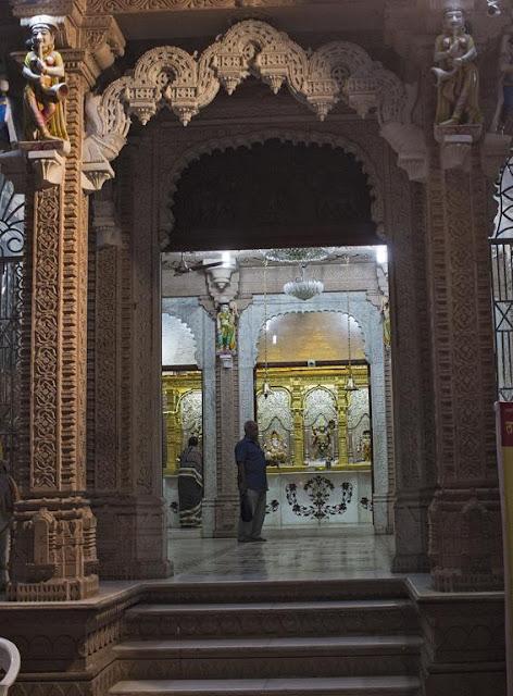 hanuman temple, lalbaug, mandir, mumbai, india,