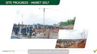 Progress Pembangunan Apartemen Podomoro Golf View 2017