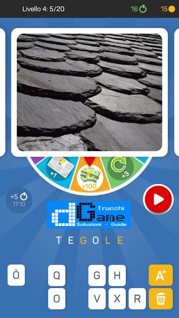 Kezako: Immagine Misteriosa soluzione pacchetto 4 livelli (1-20)