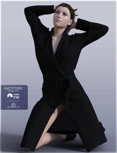 H-C Bathrobe Set for Genesis 3 Female