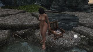 skyrim lydia nude