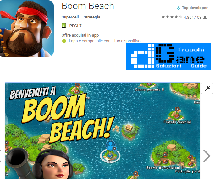 Trucchi  Boom Beach Mod Apk Android v29.115