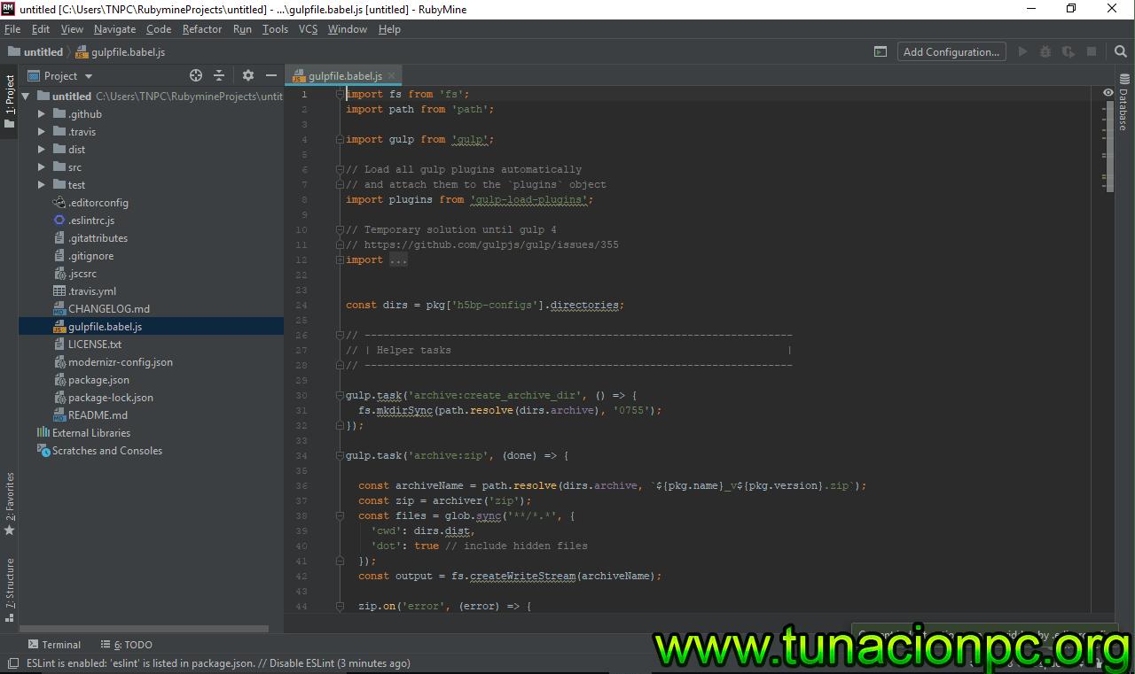 Descargar JetBrains RubyMine