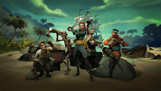 عرض جديد للعبة Sea of Thieves يظهر من خلاله السيد Phil Spencer