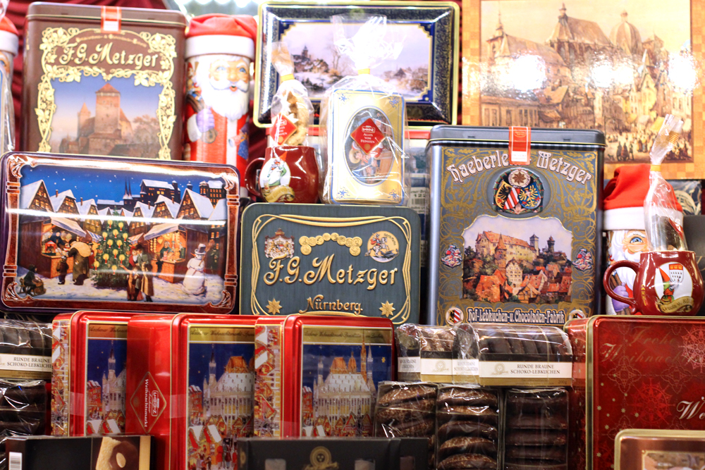 Cologne Christmas market biscuit tins - UK travel & lifestyle blog