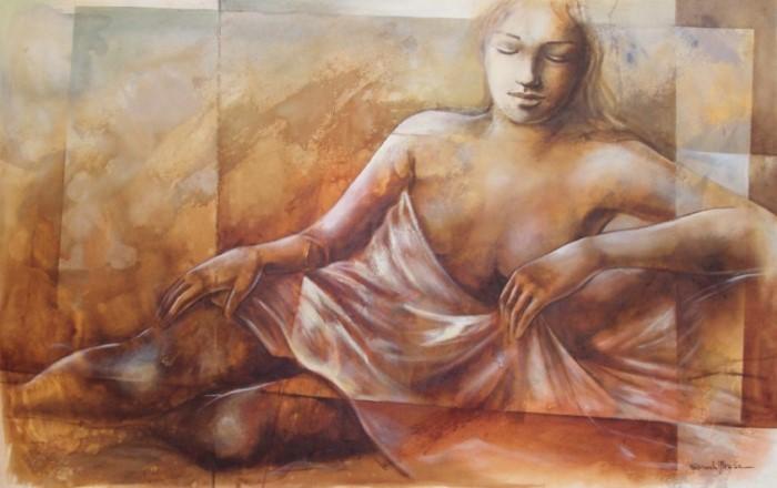 Бразильский художник. Gisele Ulisse