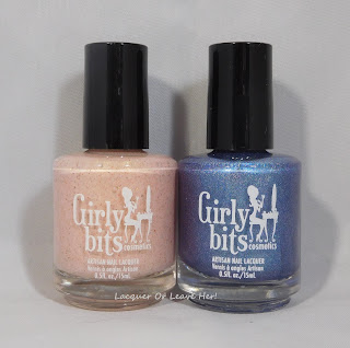 Girly Bits Cosmetics August CoTM duo: Depêche à la Mode and Let Me Azure You