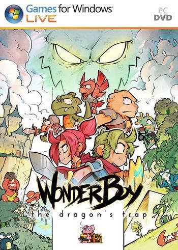 Wonder Boy: The Dragon's Trap - PC FULL - Portada